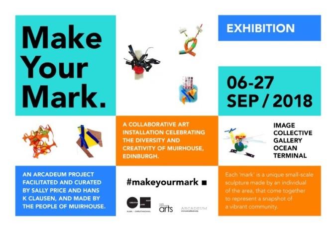 Make Your Mark - exhbibition Sep 2018