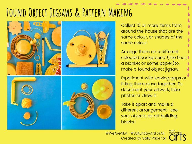 Found Object Jigsaws & Pattern Making - 03