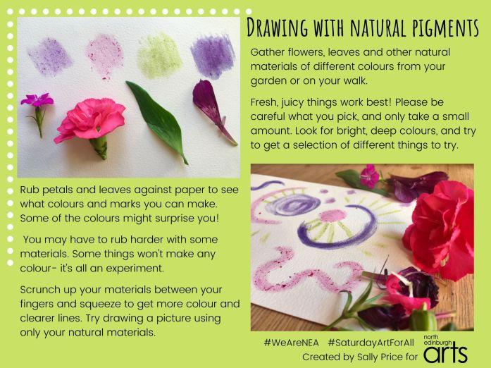 NEA Online- natural pigment