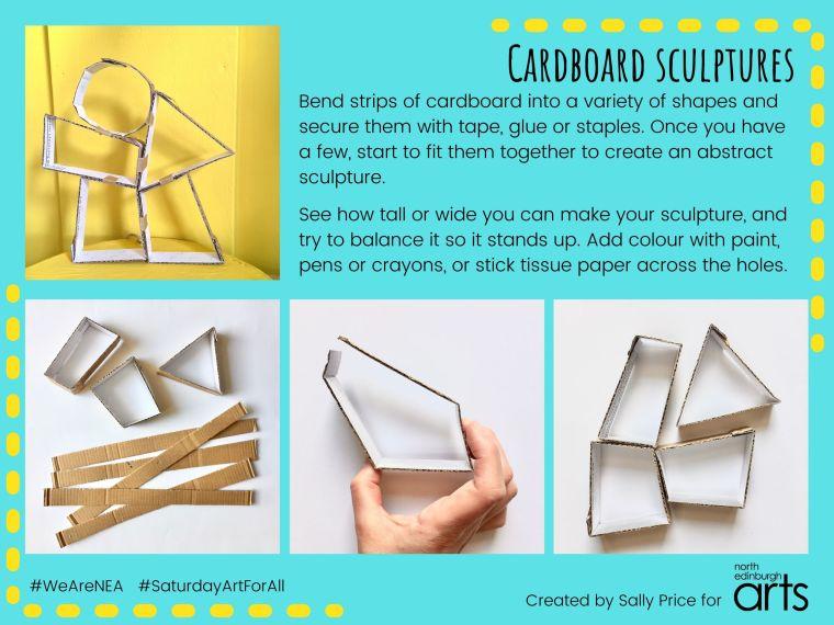 Saturday Art For All- Cardboard Sculptures