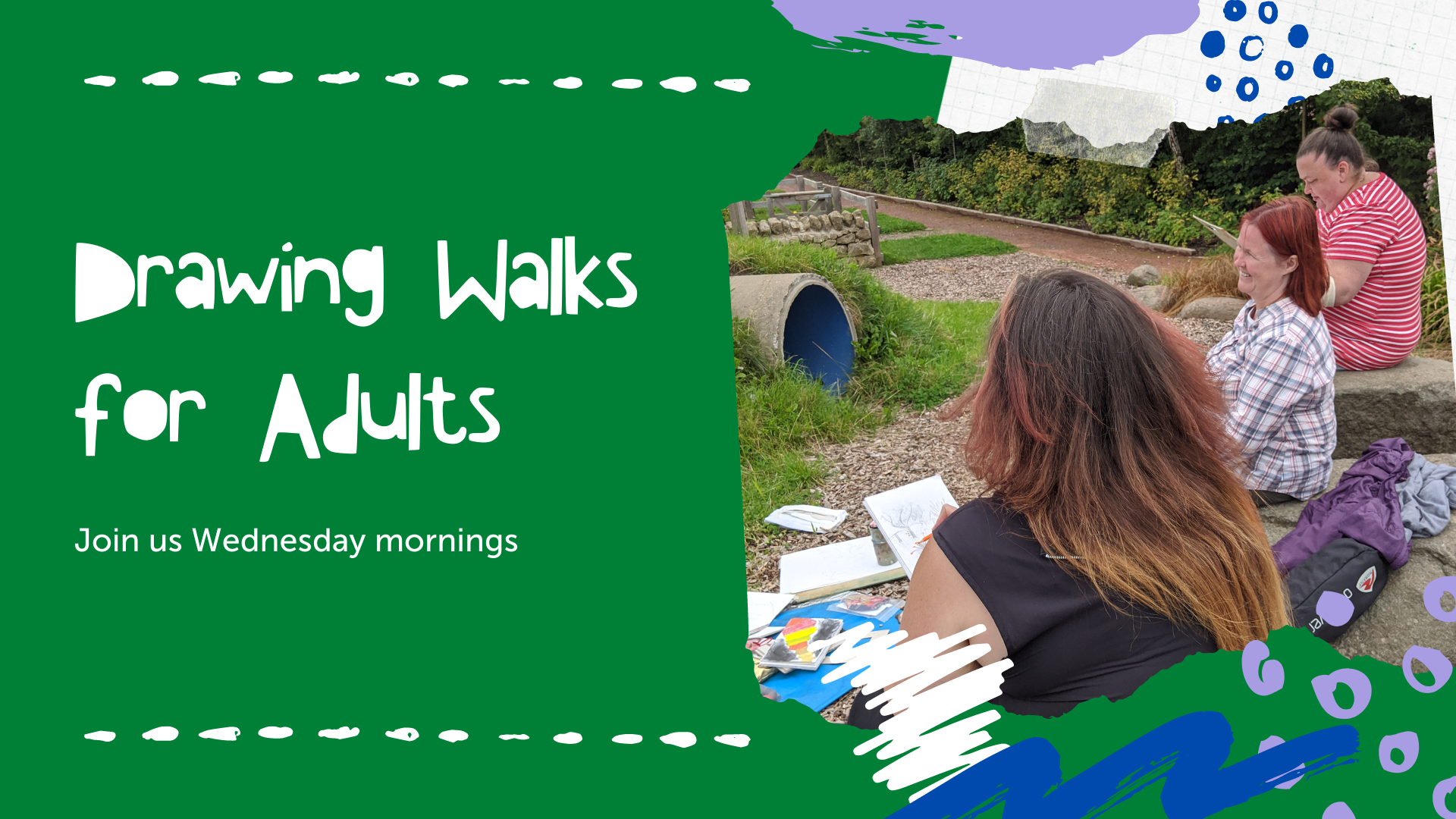 Drawing Walks for Adults